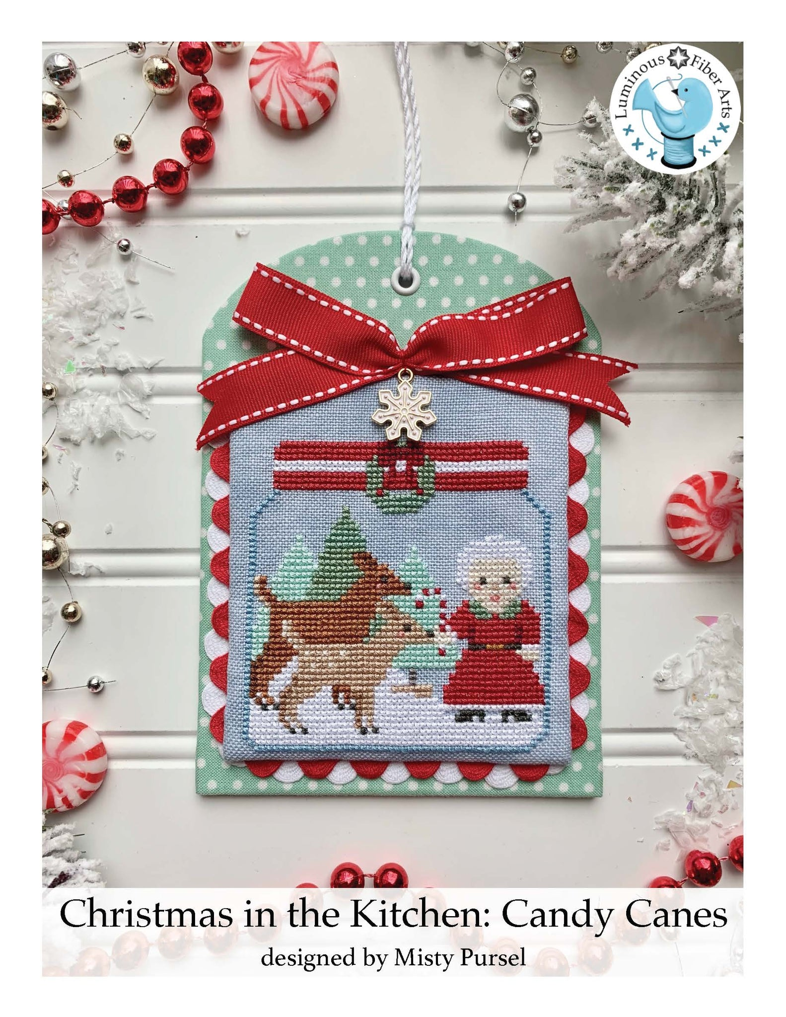 Christmas in the Kitchen - Candy Canes - Cross Stitch Pattern