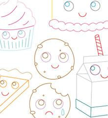 Sweet Treats Small Pack Embroidery Patterns