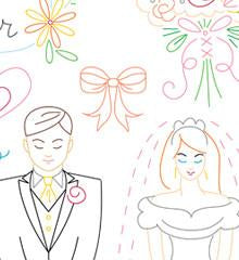 Wedding Wishes Small Pack Embroidery Patterns