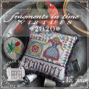 Fragments in Time 2020 #4 - Economy - Cross Stitch Pattern
