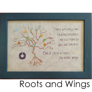 Roots and Wings - Cross Stitch Pattern