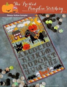 Sleepy Hollow Sampler - Cross Stitch Pattern