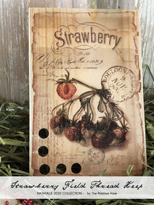 Strawberry Field Post Card Thread Keep