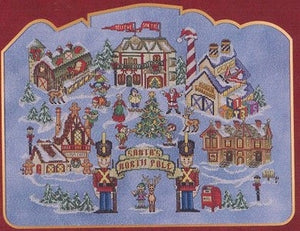 Santa's North Pole - Cross Stitch Pattern
