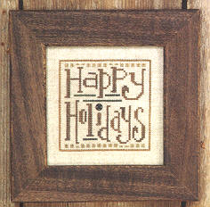 Snappers - Happy Holidays - The Starlight Stitchery