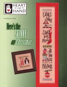 Here's the Skinny on Christmas - Cross Stitch Pattern