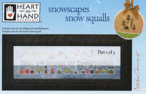 Snowscapes & Snow Squalls #1 - Cross Stitch Pattern