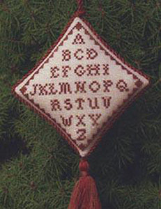 Christmas Abecedaire Ornament