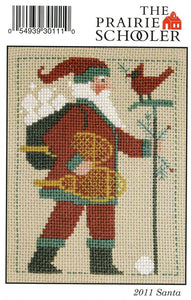 2011 Santa - Cross Stitch Pattern