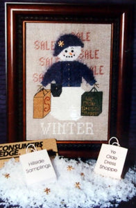 A Snow Woman for All Seasons - Winter