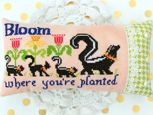 Bloom Where You're Planted - Cross Stitch Pattern