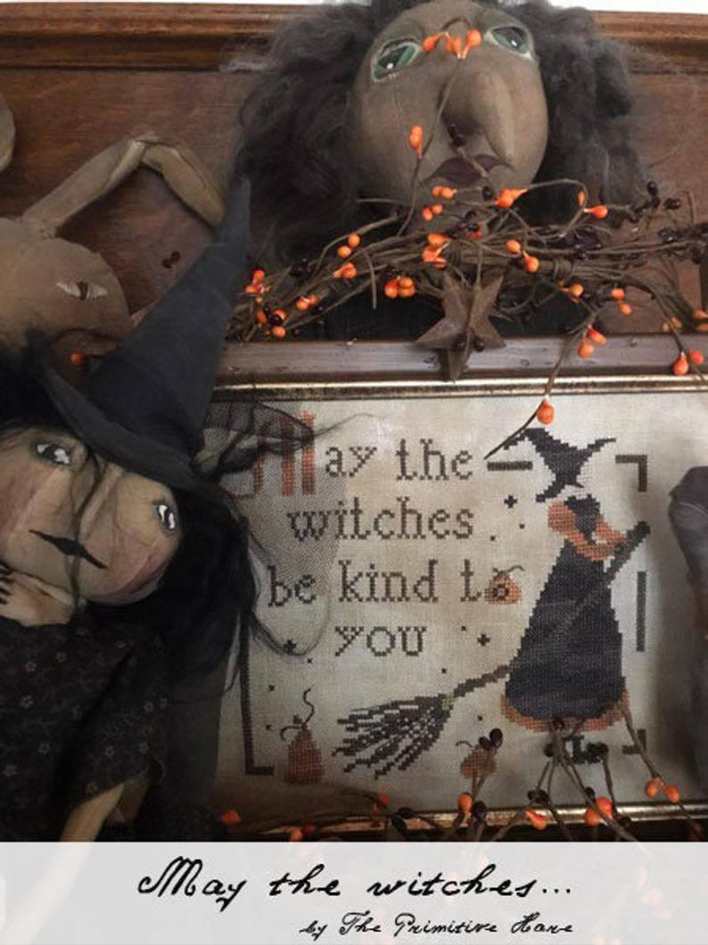 May the Witches - Cross Stitch Pattern