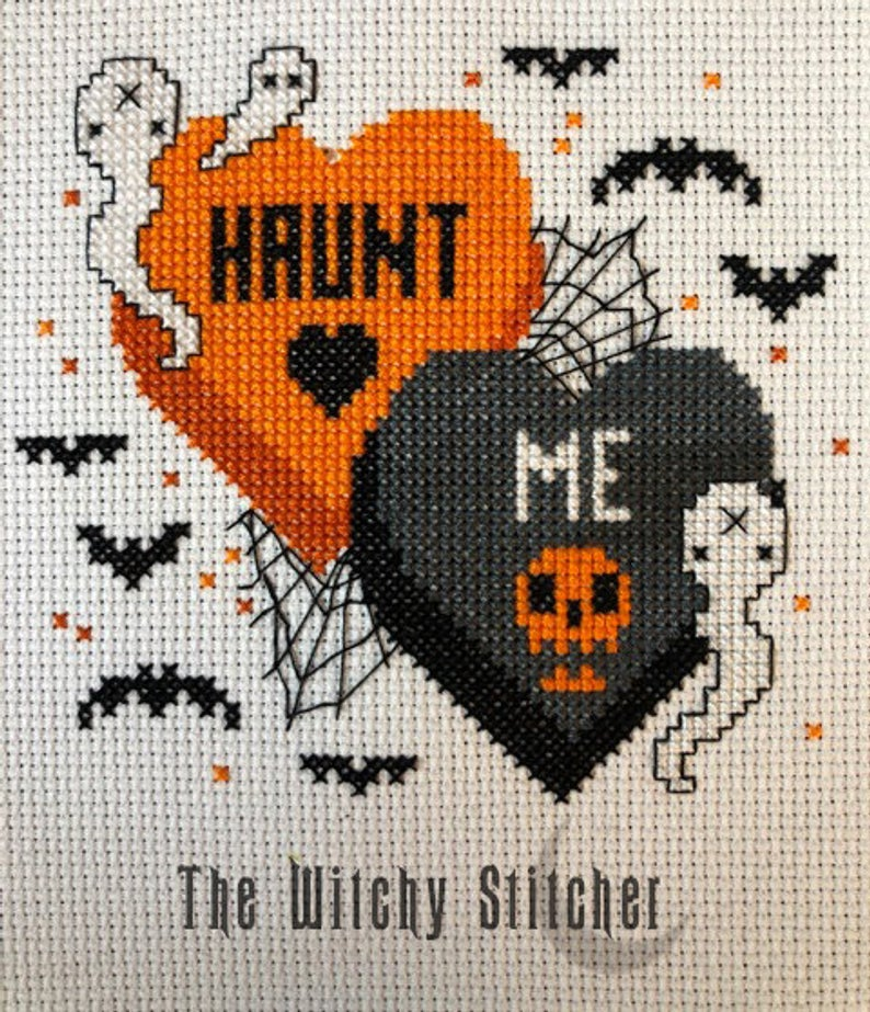 Haunt Me - Cross Stitch Pattern