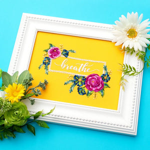 "One Meaningful Word #4 9"" Embroidery Kit"