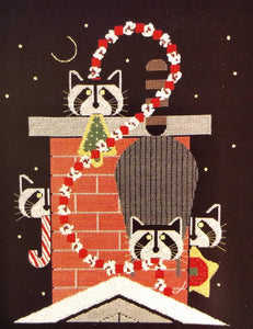 The Christmas Caper - Cross Stitch Pattern