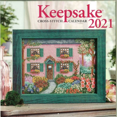 PRE ORDER Cross Stitch & Needlework Keepsake Calendar 2021