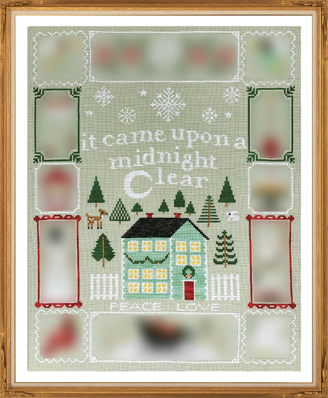 Christmas Dreams #1 - Cross Stitch Pattern
