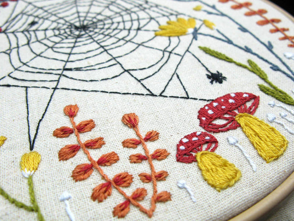 Woven Embroidery Kit