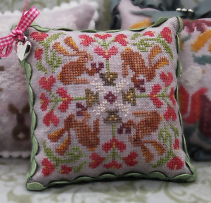 February - Rabbit, Rabbit series - Cross Stitch Pattern