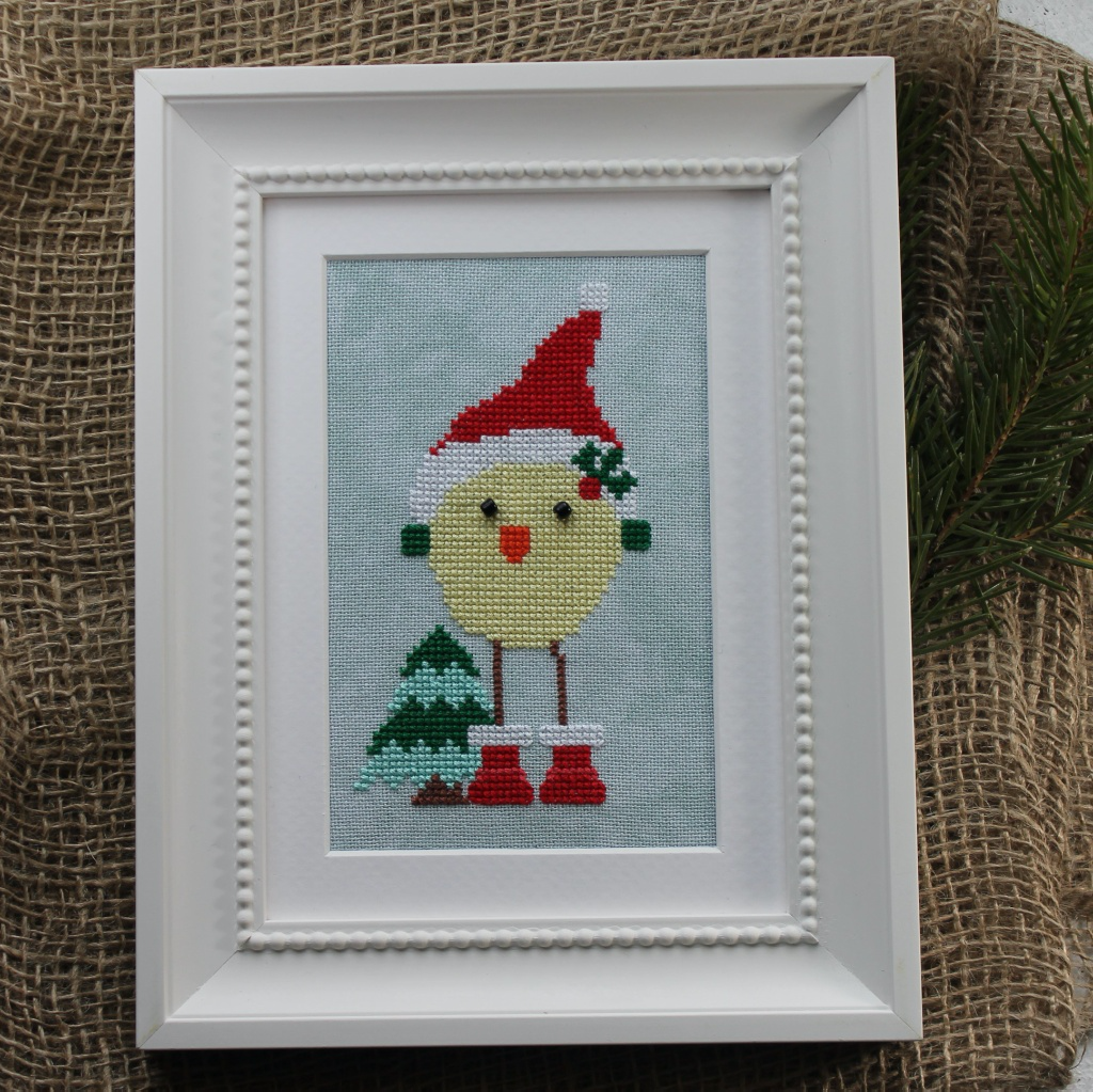 Luhu Santa - Cross Stitch Pattern