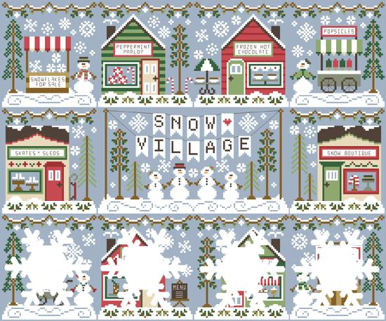 Snow Village #7 - Snow Boutique