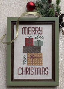 Merry Christmas Gifts - Cross Stitch Pattern