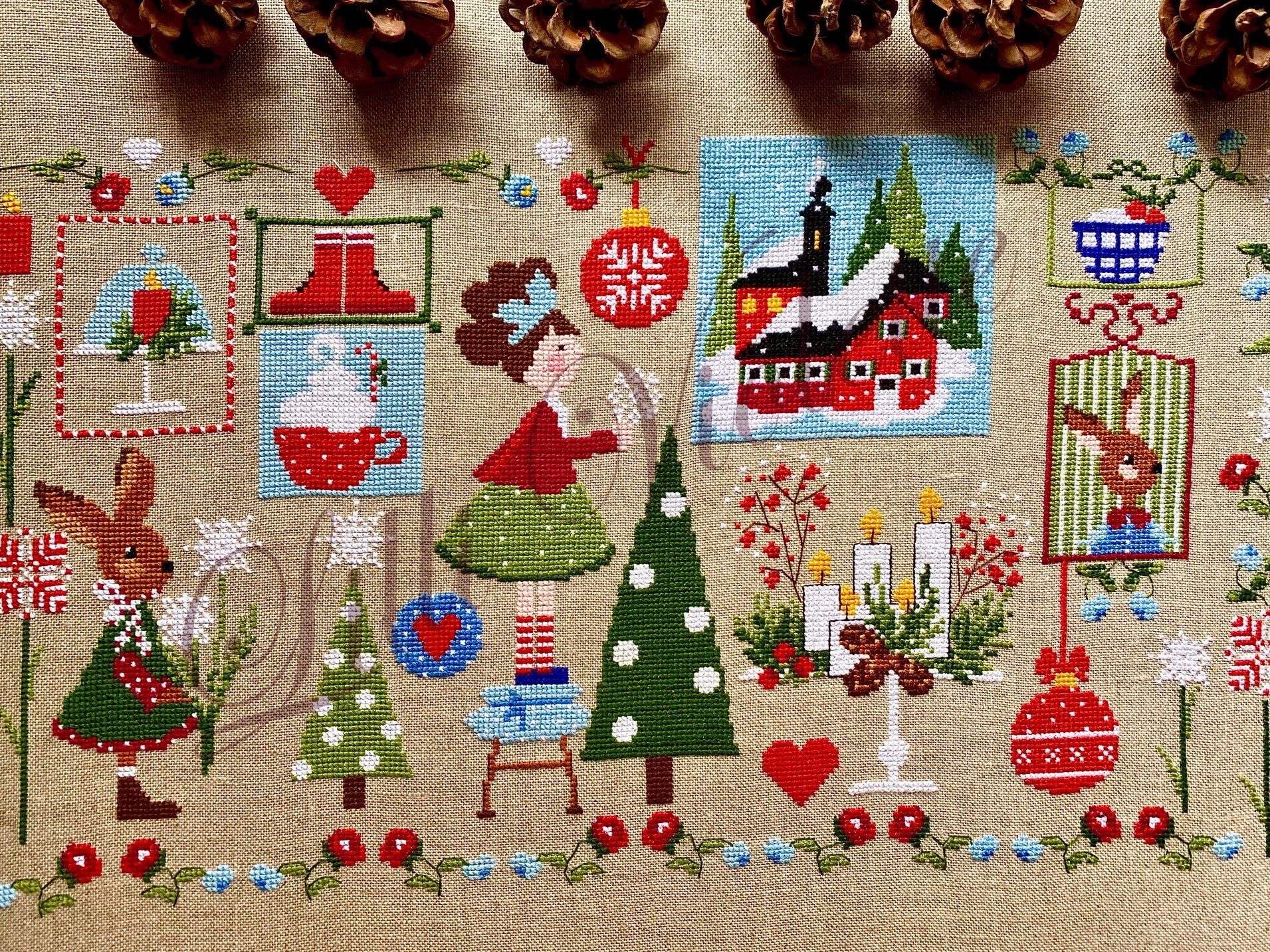 Natale è... (Christmas Is...) - Cross Stitch Pattern