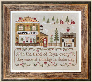 Geppetto's - Cross Stitch Pattern