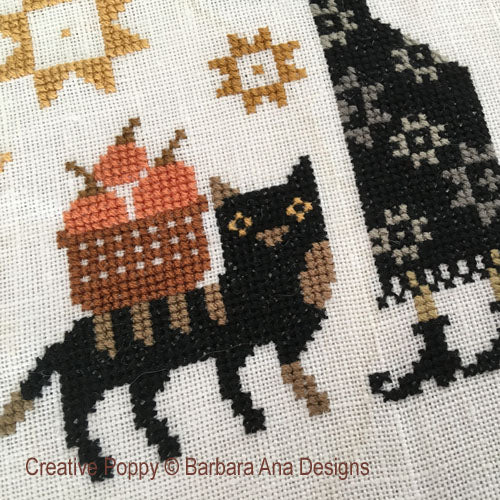 Witchy Harvest - Cross Stitch Pattern
