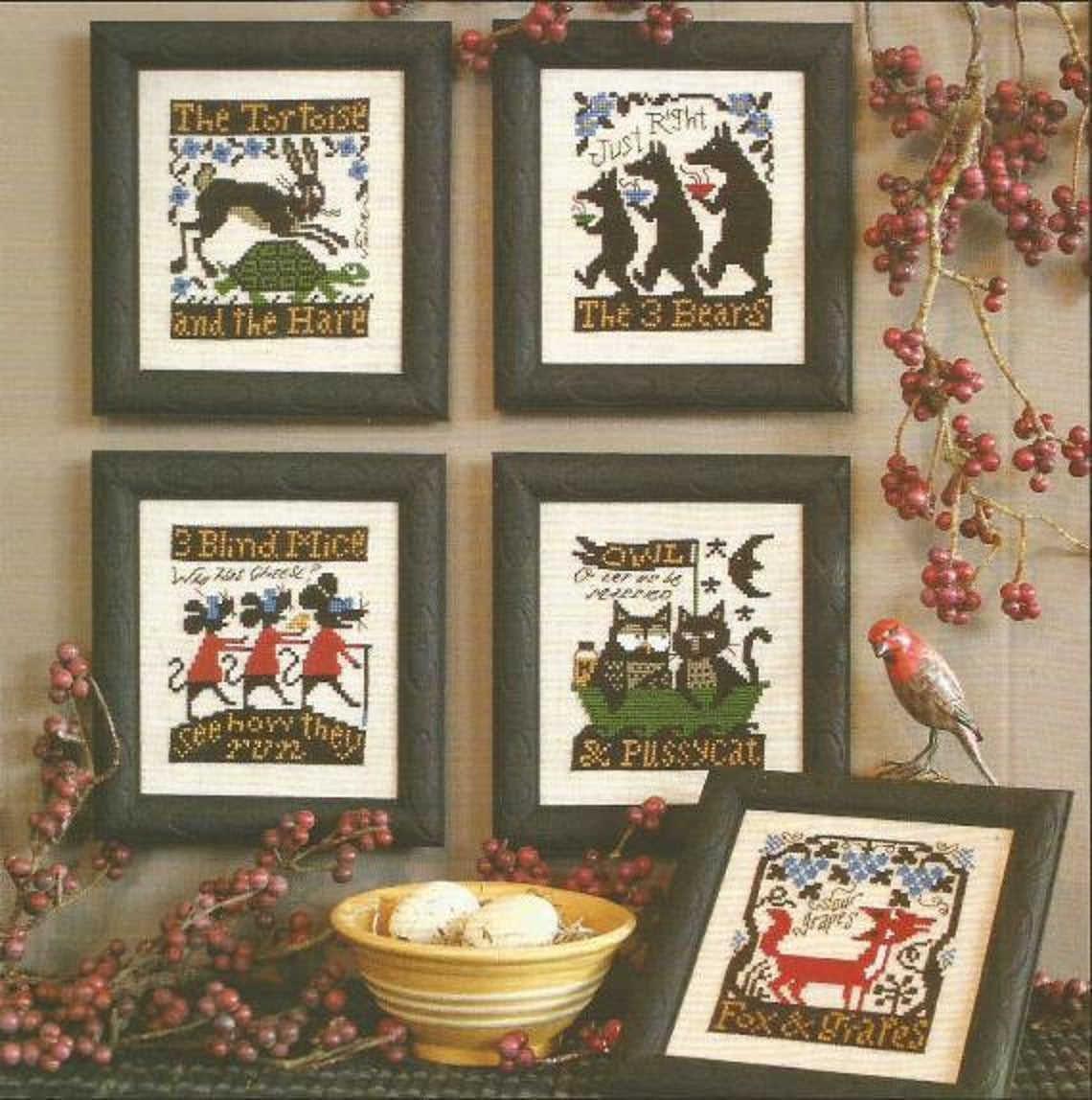 Fables & Tales - Cross Stitch Pattern