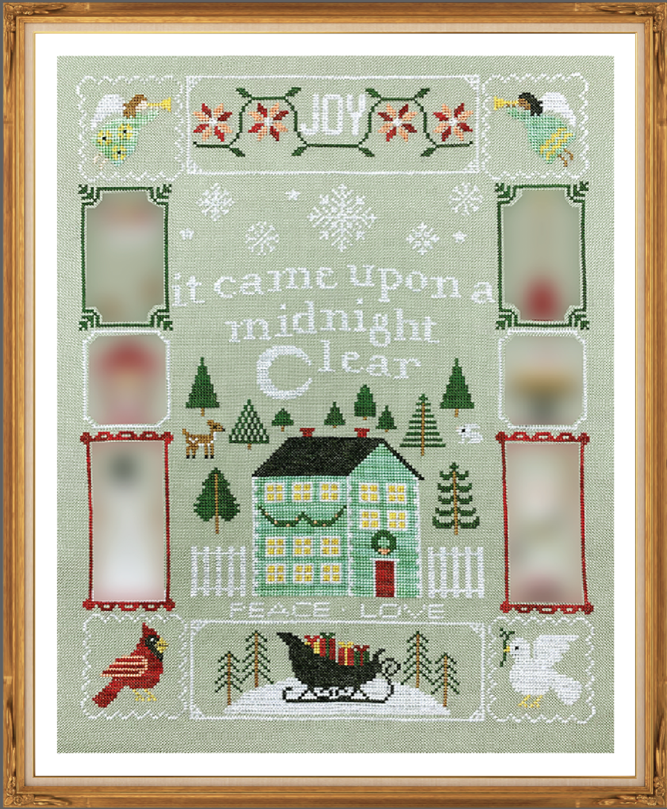 Christmas Dreams #3 - Cross Stitch Pattern