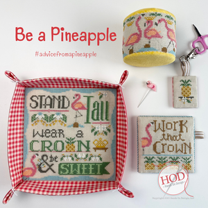 Be A Pineapple - Cross Stitch Pattern