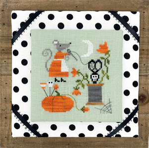 Mouse's Halloween Stitching
