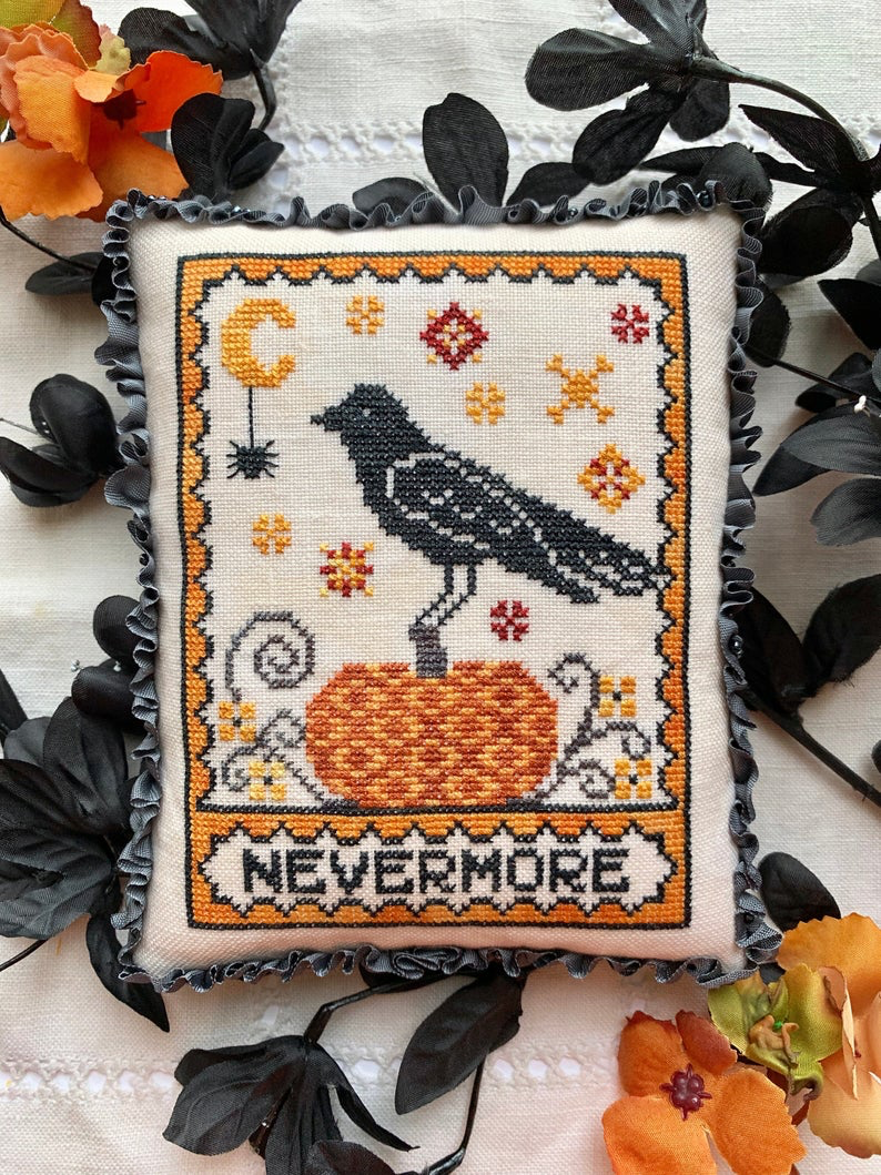 A Raven's Reply - Cross Stitch Pattern