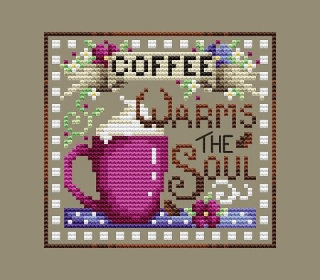 Coffee Break - Cross Stitch Pattern