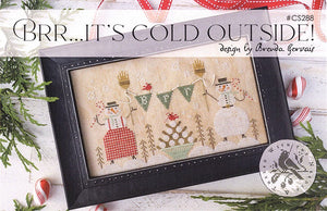 Brr... It's Cold Outside! - Cross Stitch Pattern