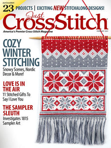 Just CrossStitch - Volume 39, Issue 1 February 2021