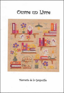 Ouvre un Livre - Cross Stitch Pattern