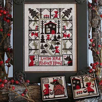 Little Red Riding Hood - Cross Stitch Pattern