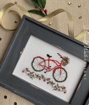 Holiday Bike - Cross Stitch Pattern