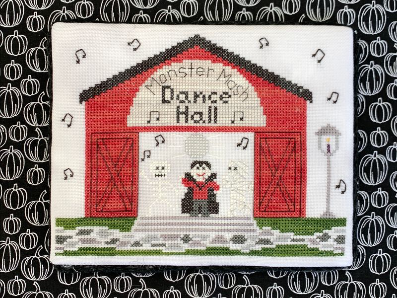 Spooky Hollow #3 - Dance Hall - Cross Stitch Pattern