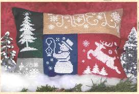 Holiday Minis Pillow - Cross Stitch Pattern