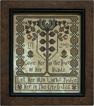 Give Her - Cross Stitch Pattern