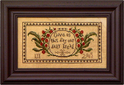 Our Daily Bread - Cross Stitch Pattern