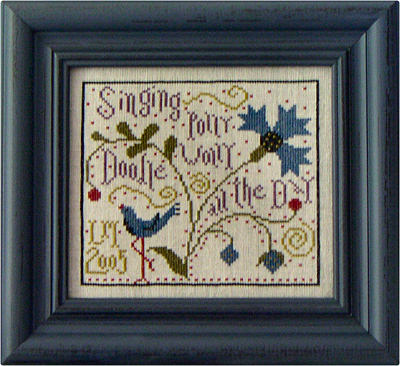 Polly Wolly Doodle - Cross Stitch Pattern
