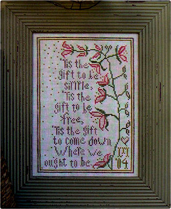 'Tis the Gift - Cross Stitch Pattern
