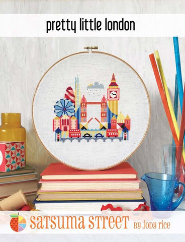 Pretty Little London - Cross Stitch Pattern