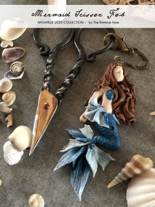 Mermaid Scissor Fob