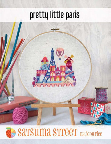 Pretty Little Paris - Cross Stitch Pattern