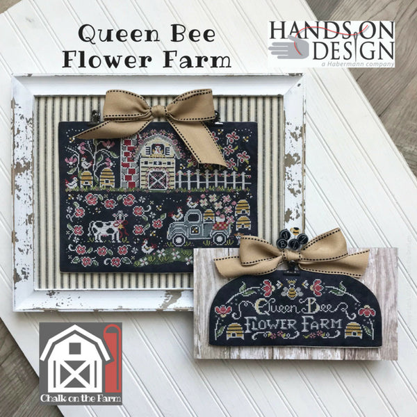 Chalk on the Farm (2/4) - Queen Bee Flower Farm
